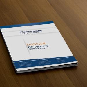 Cornerstone - Dossier de presse